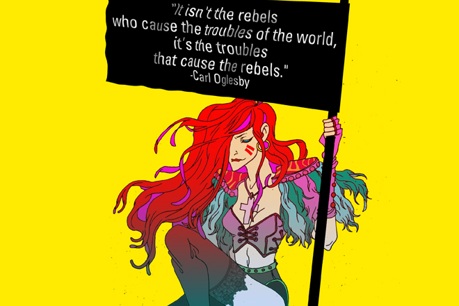 Godkiller Occupy Comics Occupy Wall Street Atari Teenage Riot